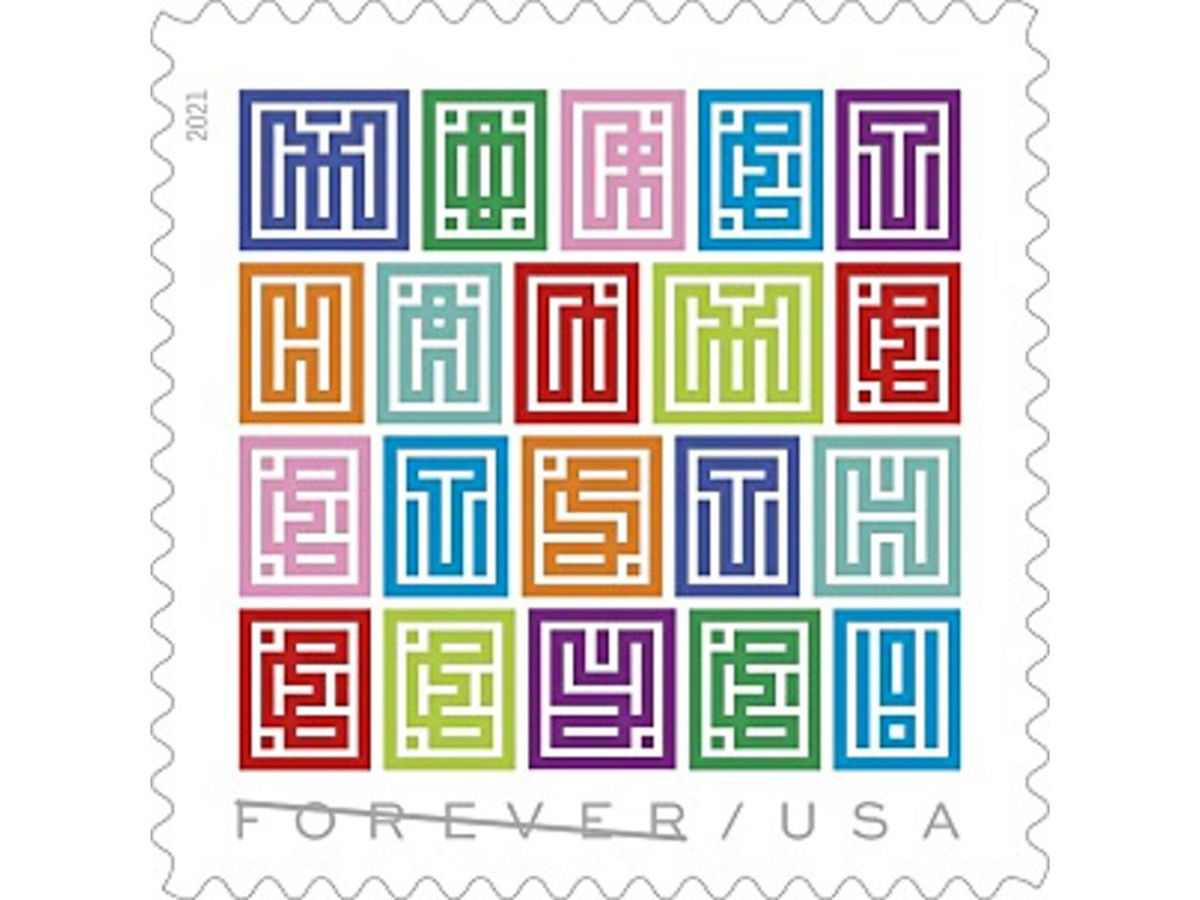 New forever stamp is quite the mystery