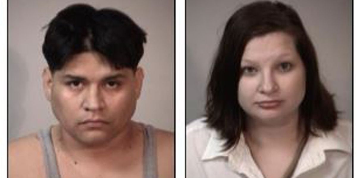 Sheriff's office: Drunk couple arrested with 1-year-old, open containers in vehicle