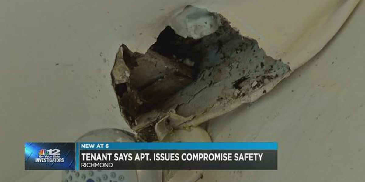 Tenant says apartment issues compromise safety