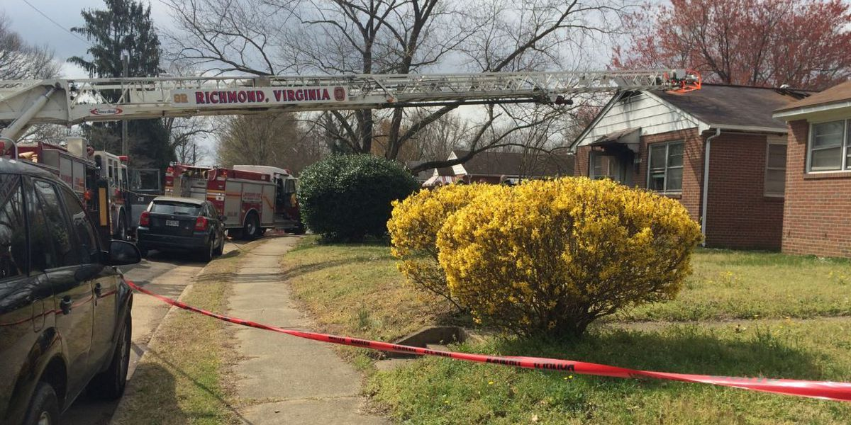 Two people displaced after fire destroys Richmond home