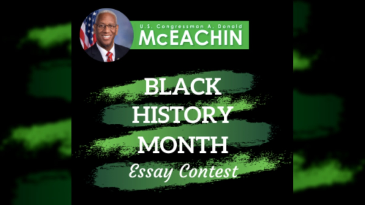 Students in Va.'s 4th District can apply to this Black History Month essay contest