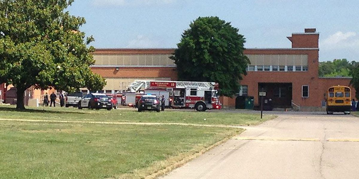 Crews respond to small fire at John Marshall HS