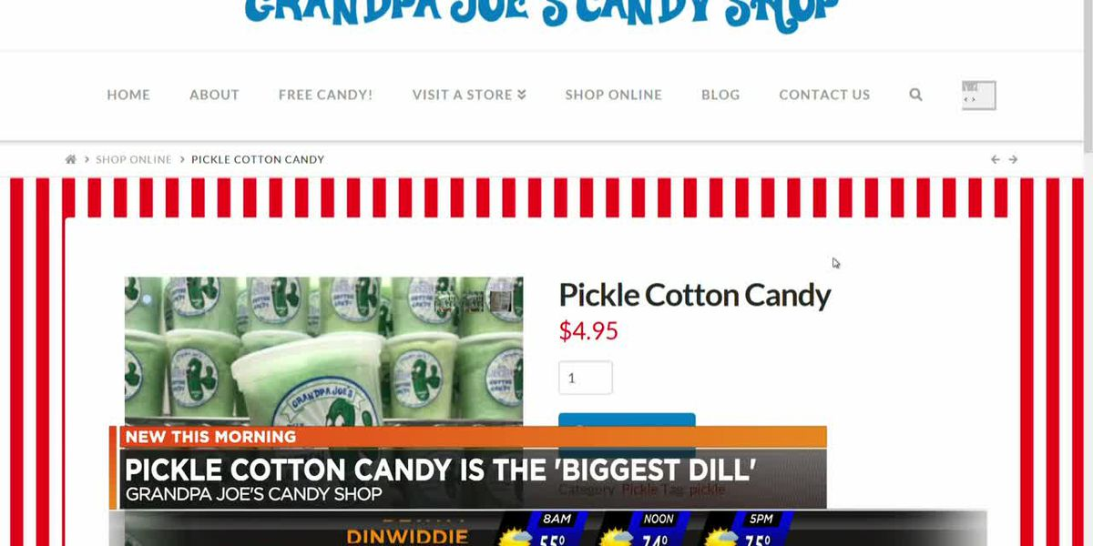 Pickle cotton candy is the 'biggest dill'