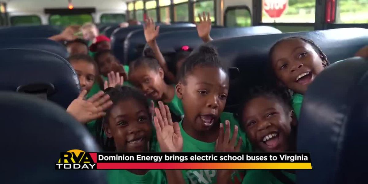 Dominion Energy brings electric school buses to Virginia