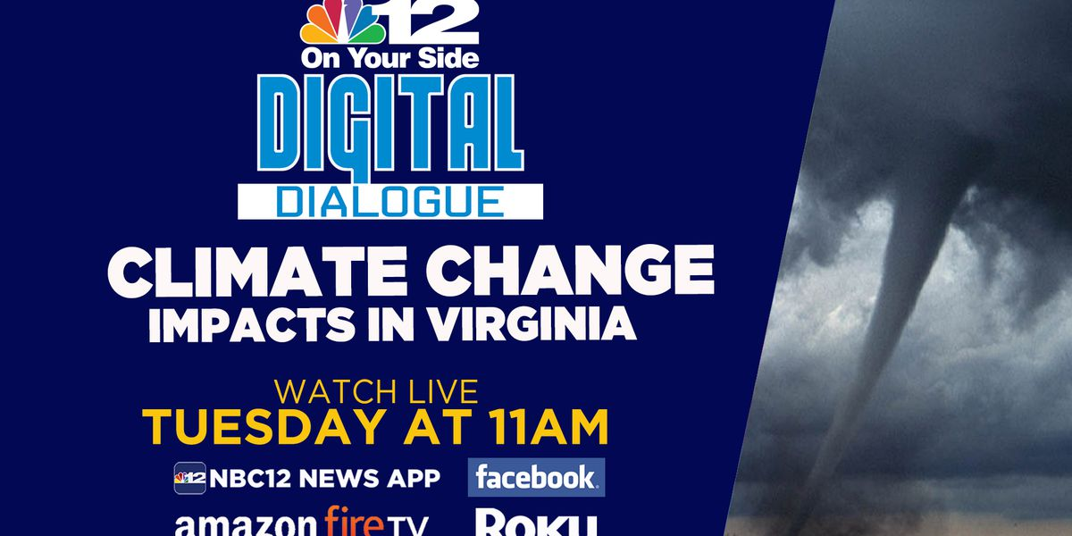 Digital Dialogue: Climate change impact on Virginia
