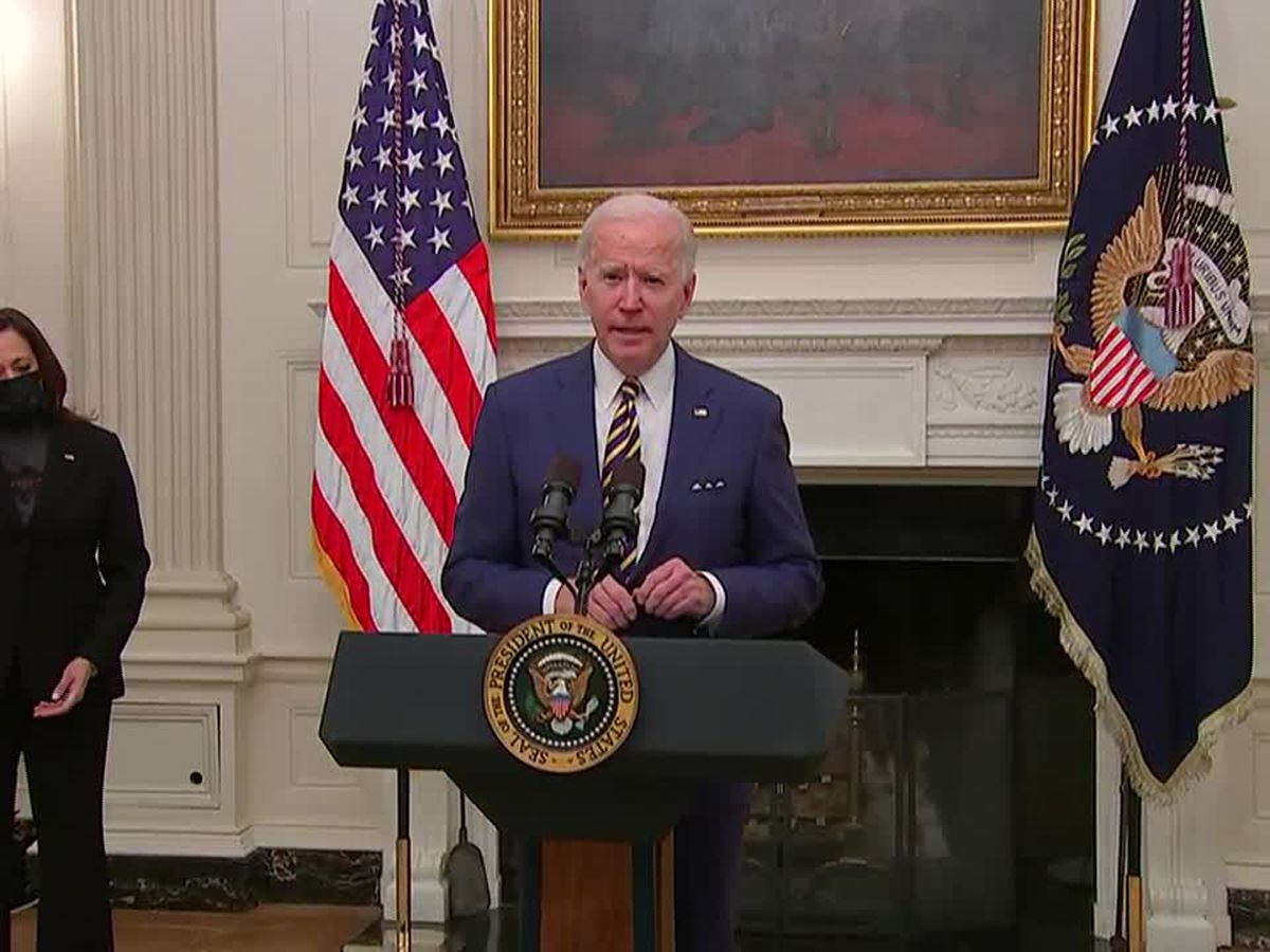 Biden more bullish on vaccines, suggests 1.5M shots per day