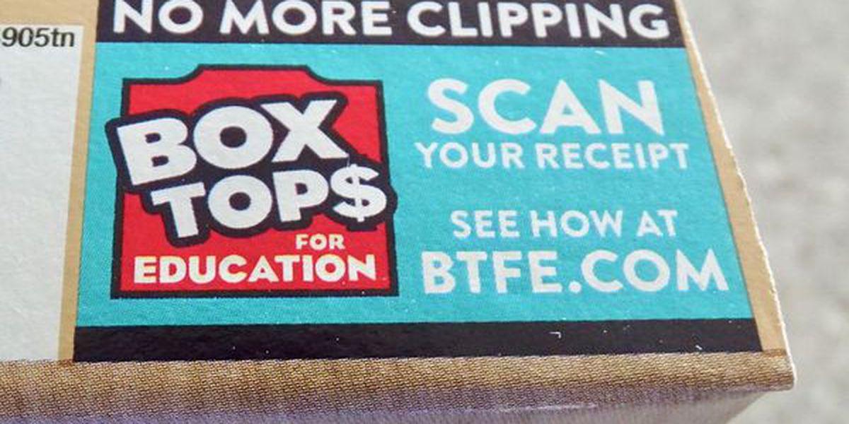 Box Tops for Education Program is going digital