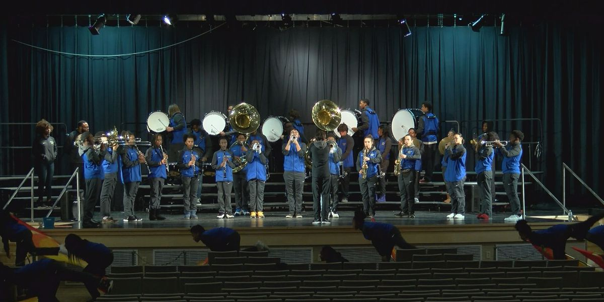 Hopewell High School marching band receives national attention