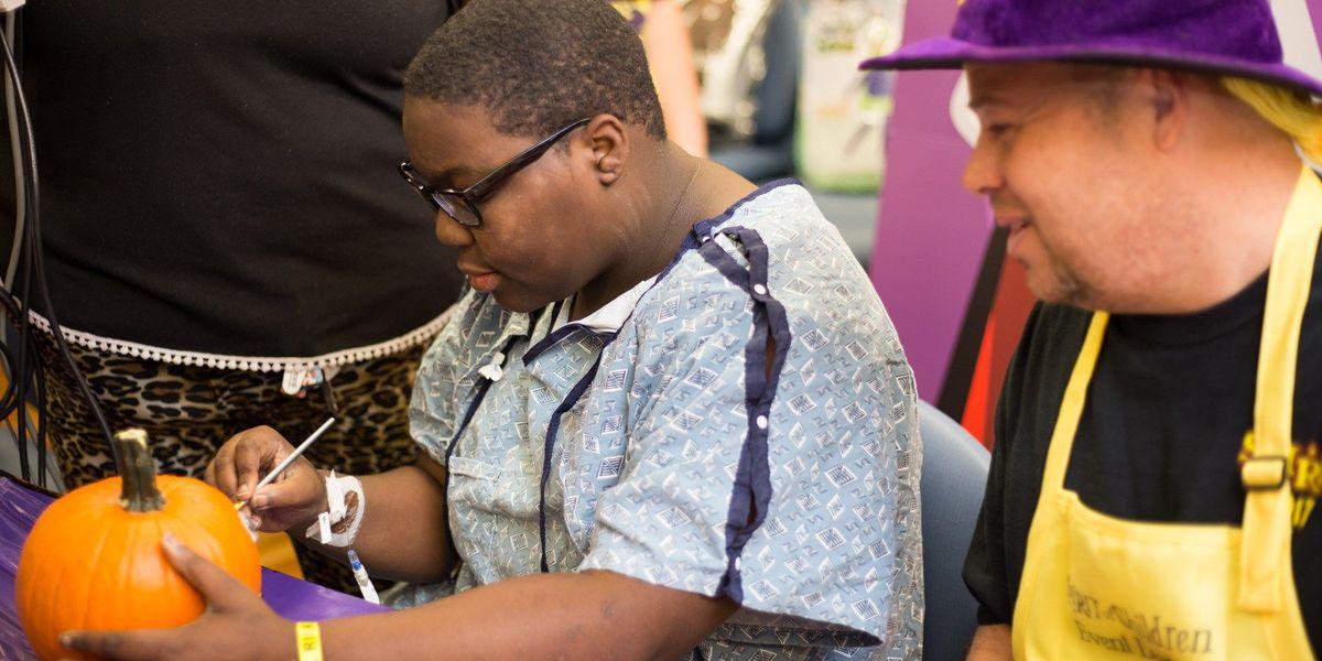 Children's Hospital of Richmond throws Halloween party