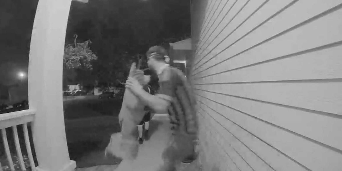 Couple asks for return of wooden bear statues stolen by porch pirates