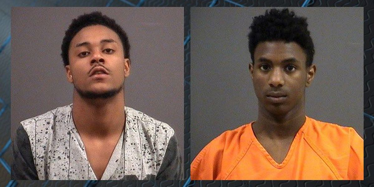 Teens charged after allegedly trying to break into car with police officer inside