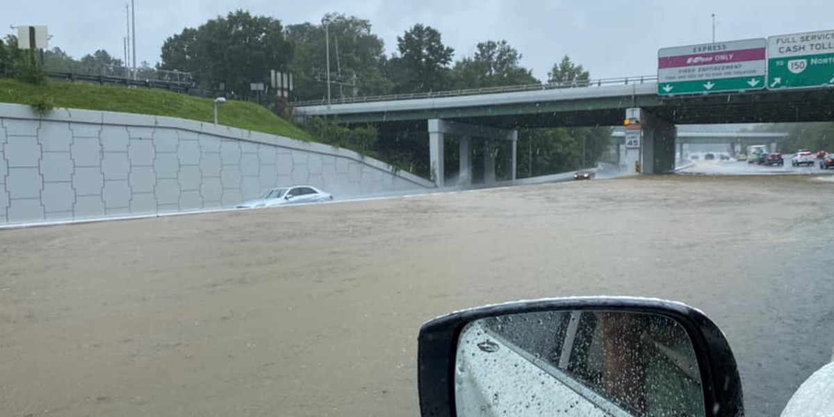 Photos and videos show heavy weekend flooding in Central Virginia