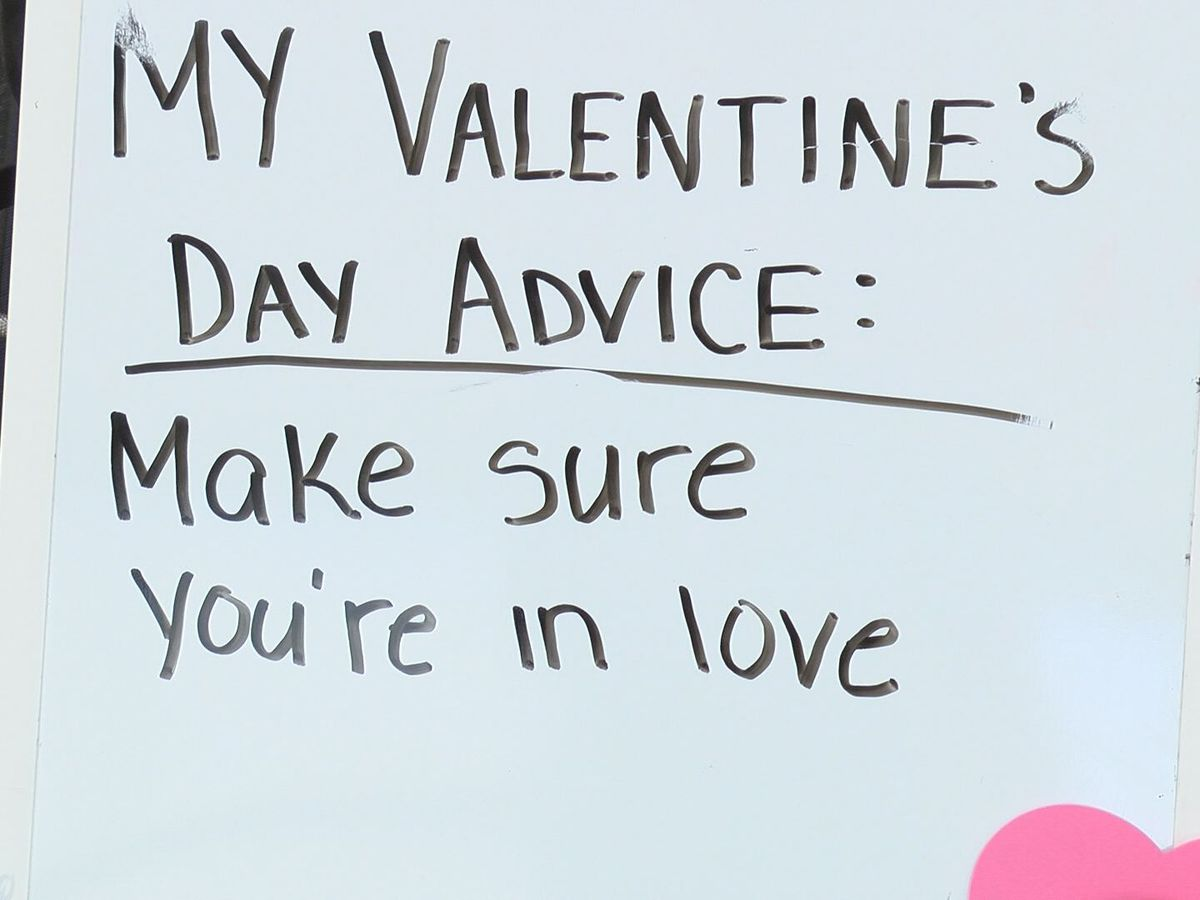 Elderly at Sitter & Barfoot Veterans Care Center gives Valentine's Day advice, reveal secrets to long lasting marriage