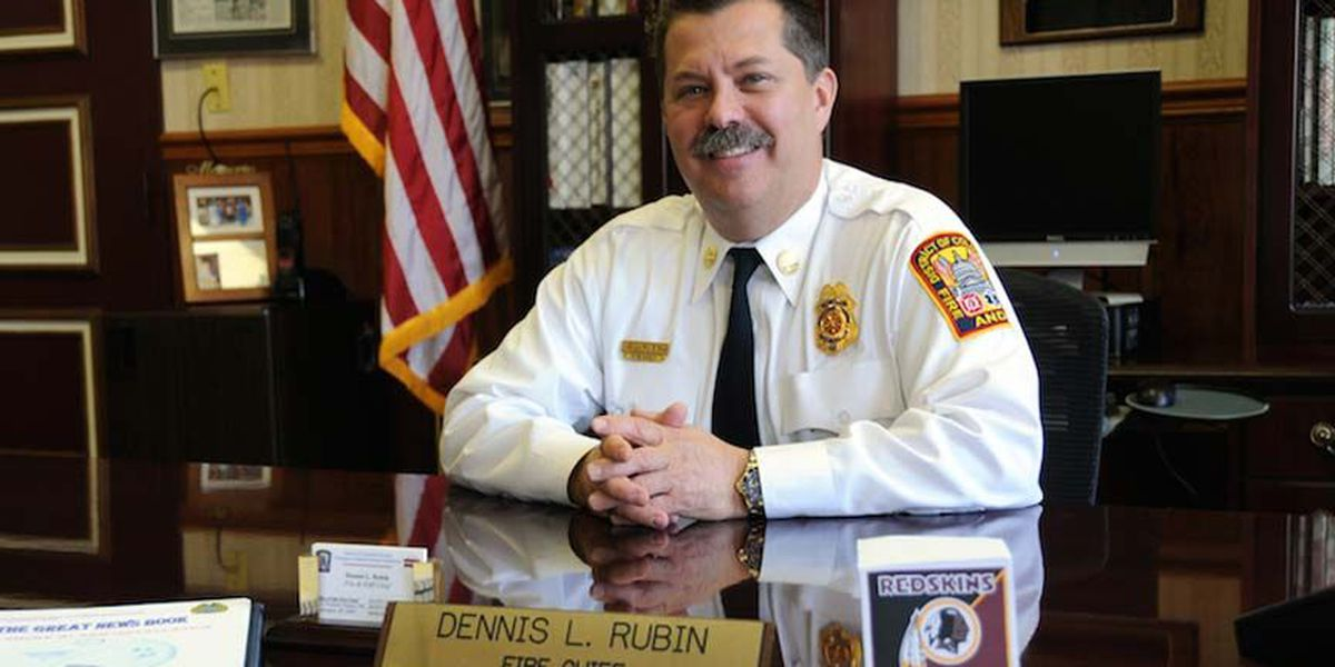 Petersburg fire chief to step down