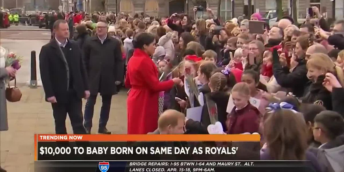 $10,000 up for grabs if your baby is born same day as royals' baby