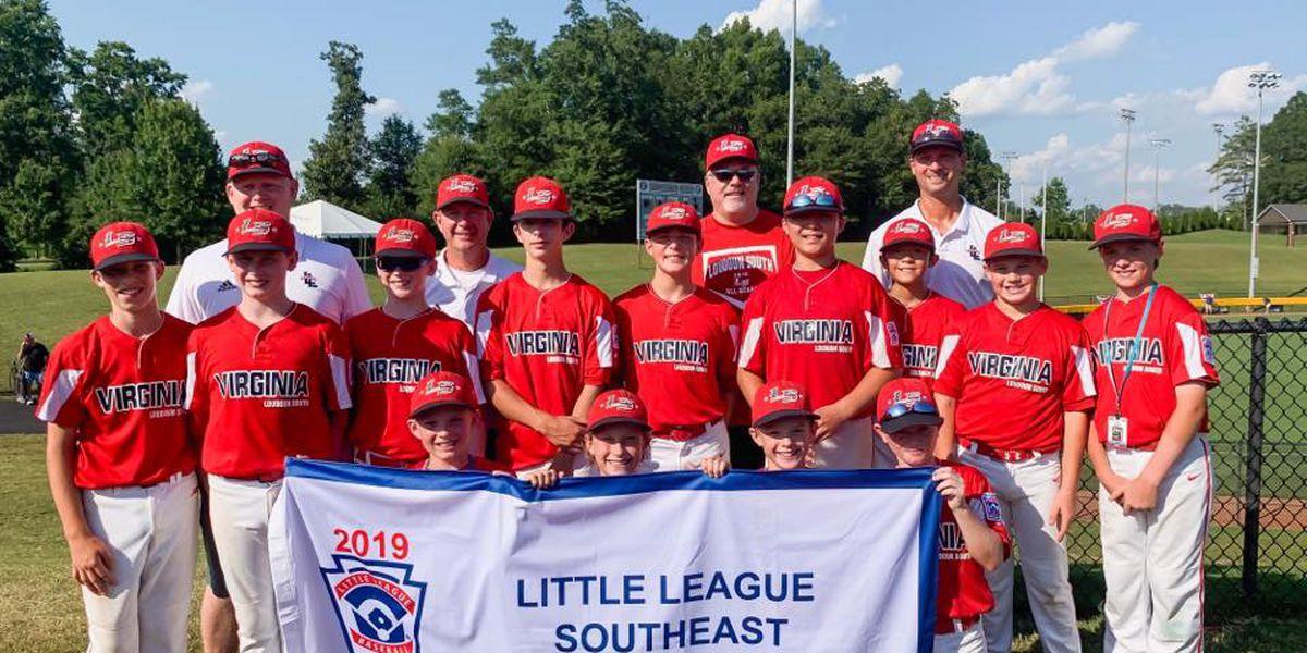 Va. team no-hits Minnesota in Little League World Series