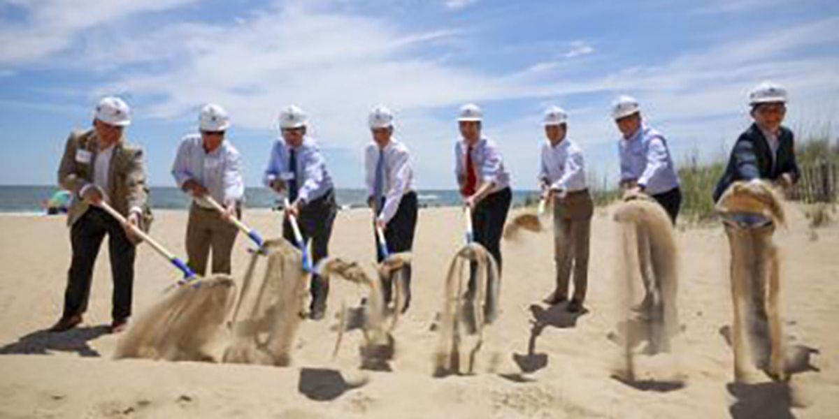 Virginia's first offshore wind project gets underway