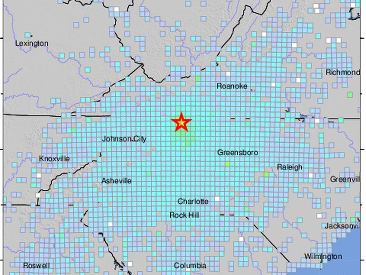 FIRST ALERT: Magnitude 5.1 earthquake reported in Sparta, NC