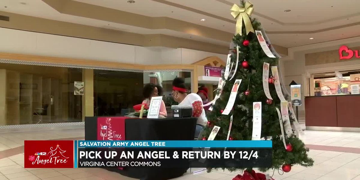 Angel Tree: Pick up an angel and return by Dec. 4