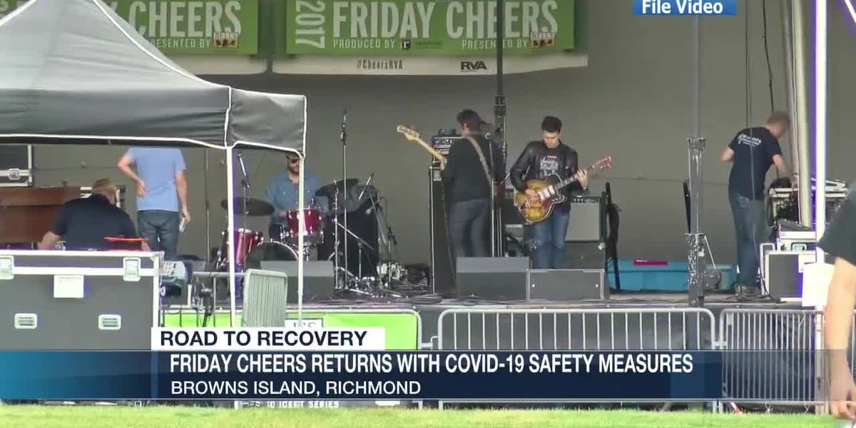 Friday Cheers returns for 36th season of live music