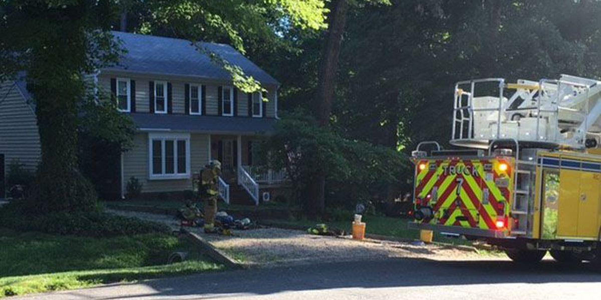 Woman, infant escape Chesterfield house fire