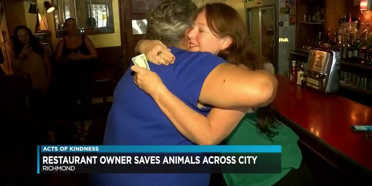 Part owner of popular Richmond restaurant finds time to rescue animals
