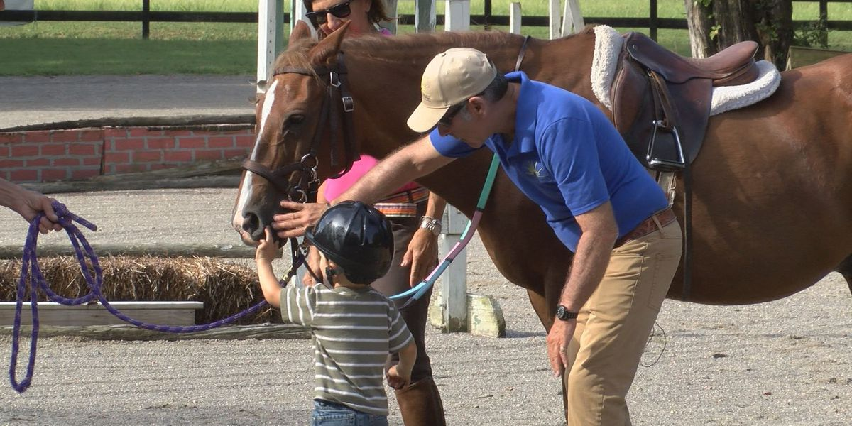 Non-profit in Ashland offers therapeutic horseback riding for cancer patients, survivors