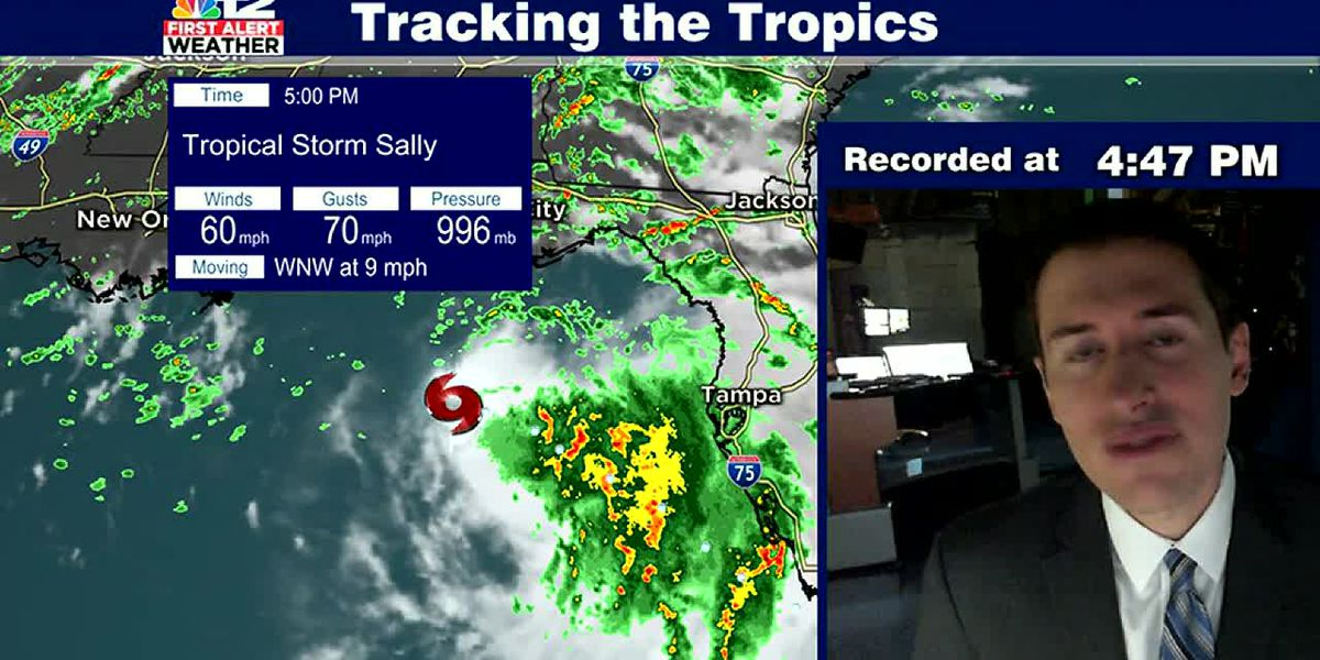 Tropical Storm Sally could strengthen into a hurricane