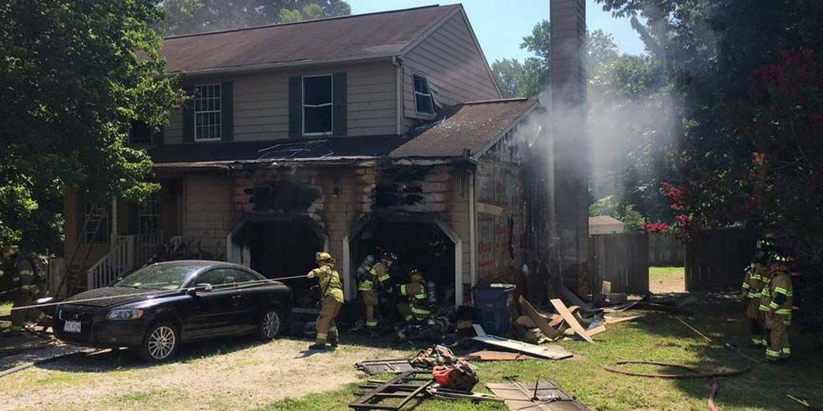 Three people displaced in Chesterfield house fire, 1 person sent to hospital