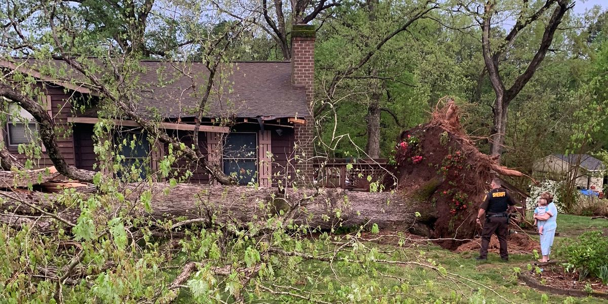 NWS confirms at least 10 tornadoes touched down in Virginia