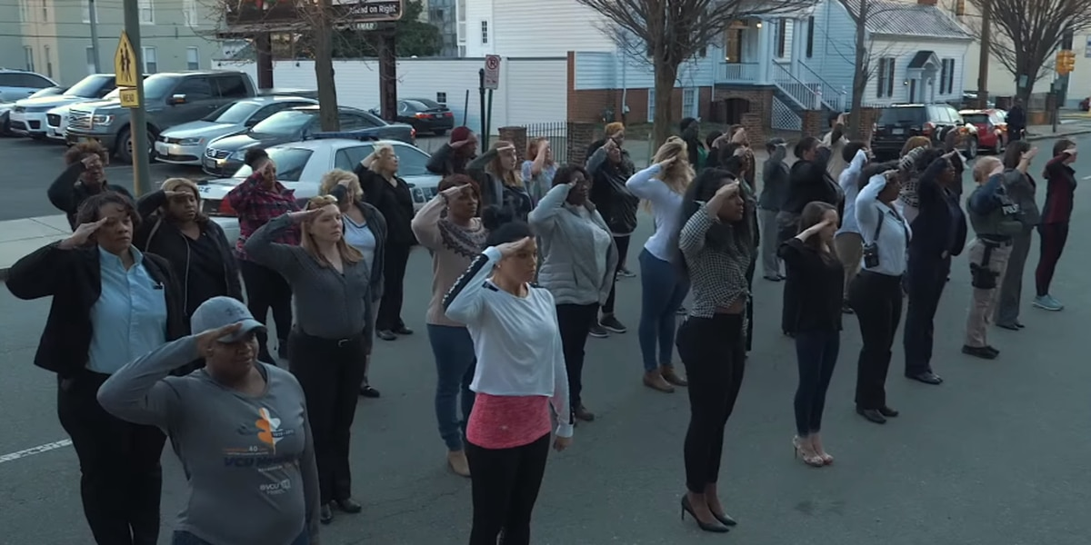 Richmond police 'salute' mothers in recruitment video
