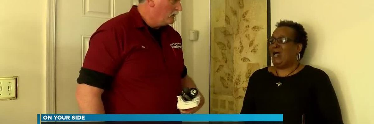 Home repaired for 3-time cancer survivor