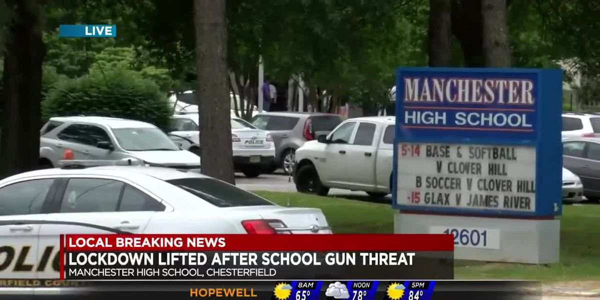 Lockdown lifted at Manchester High School