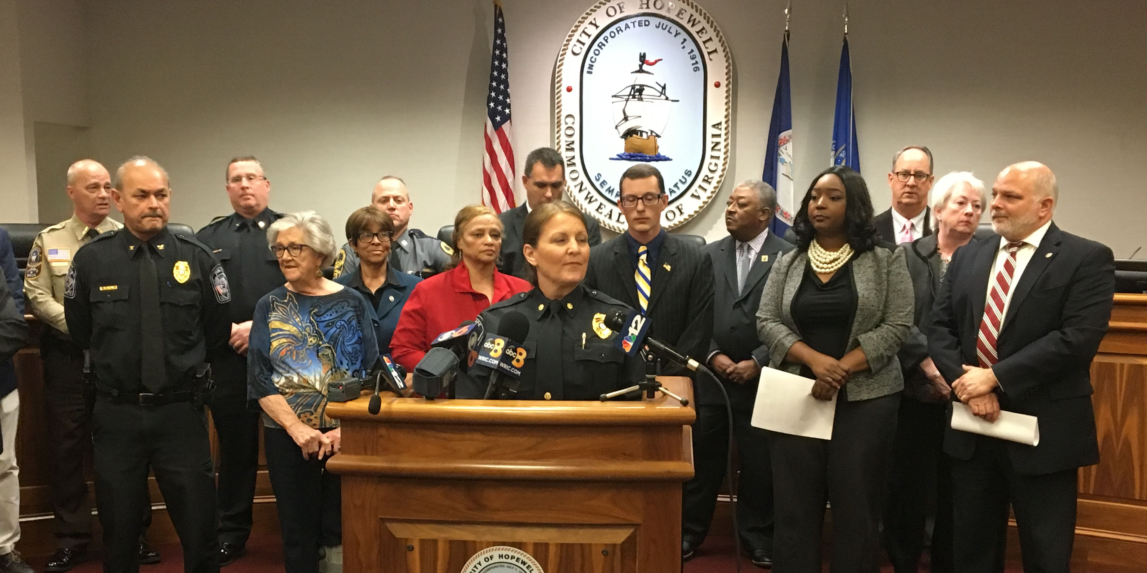 City leaders address citizens' concerns of violence in Hopewell