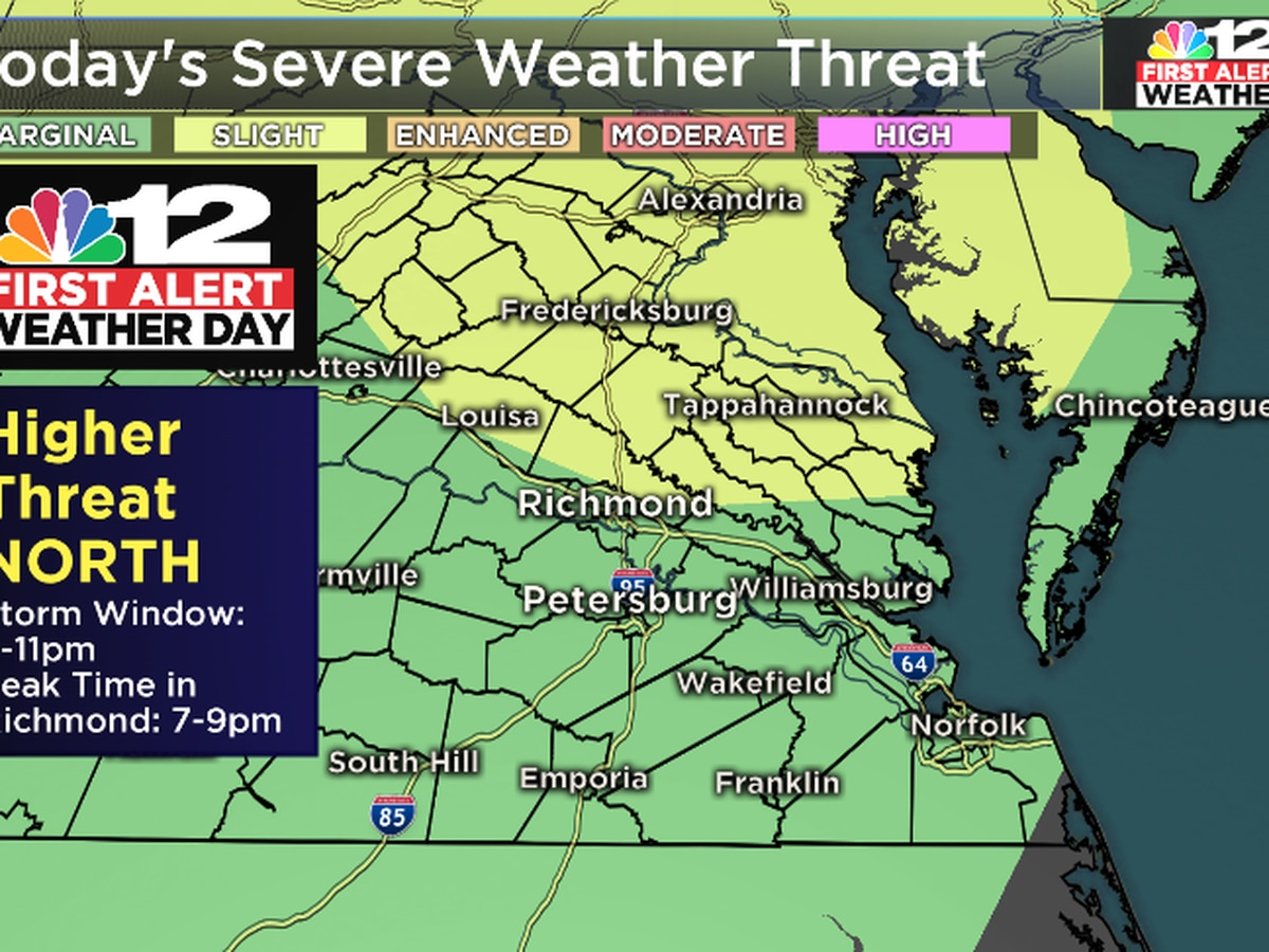 First Alert Weather Day: Heavy storms possible Thursday