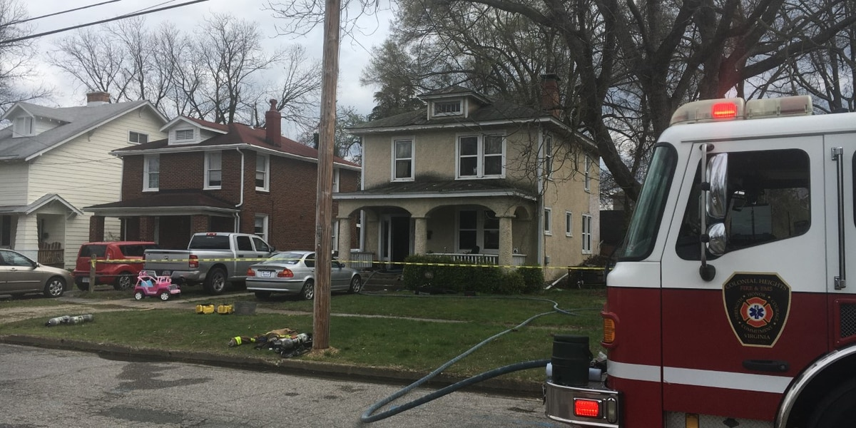 House fire under investigation in Colonial Heights