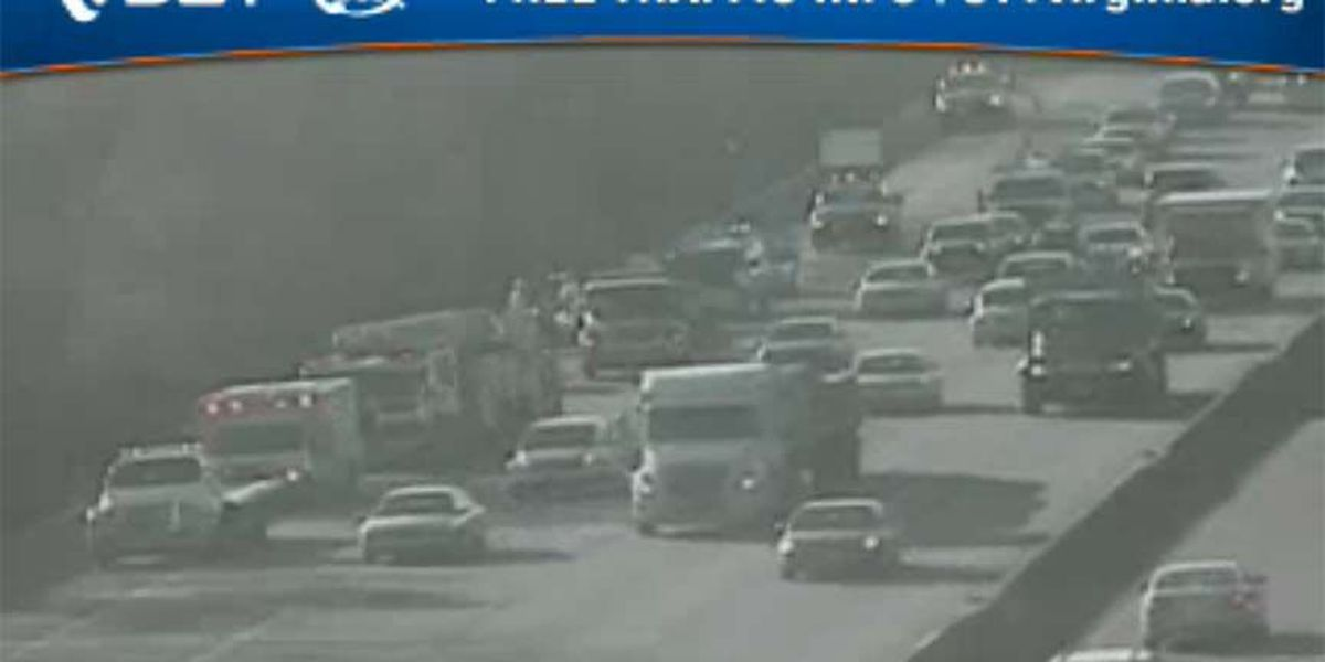 All lanes back open after crash on I-95N in Richmond