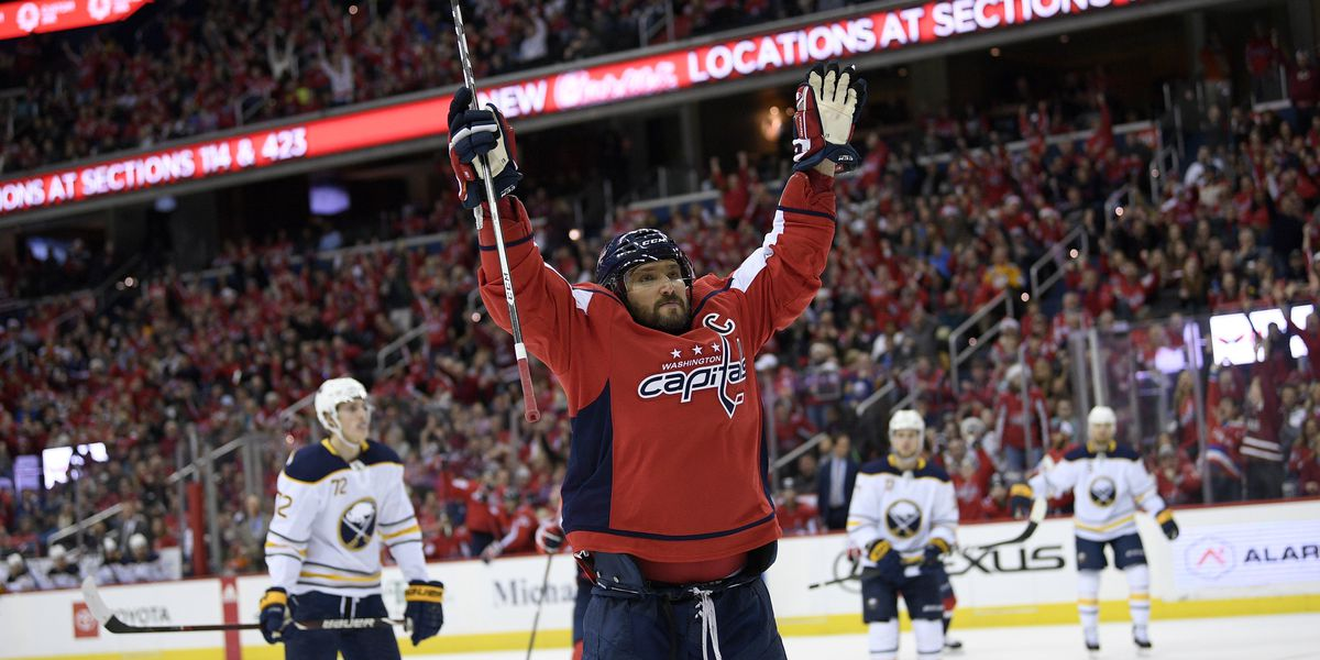 Ovechkin scores, has shootout winner as Caps beat Sabres