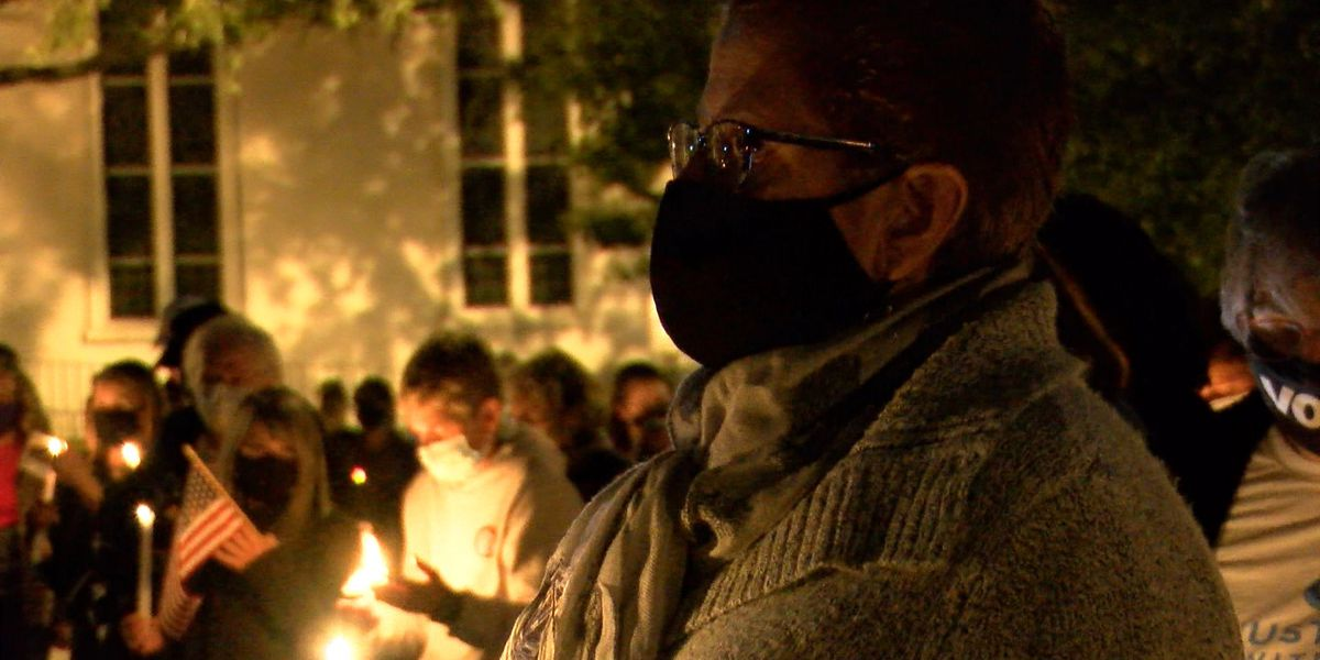 Richmond remembers Justice Ruth Bader Ginsburg with a vigil