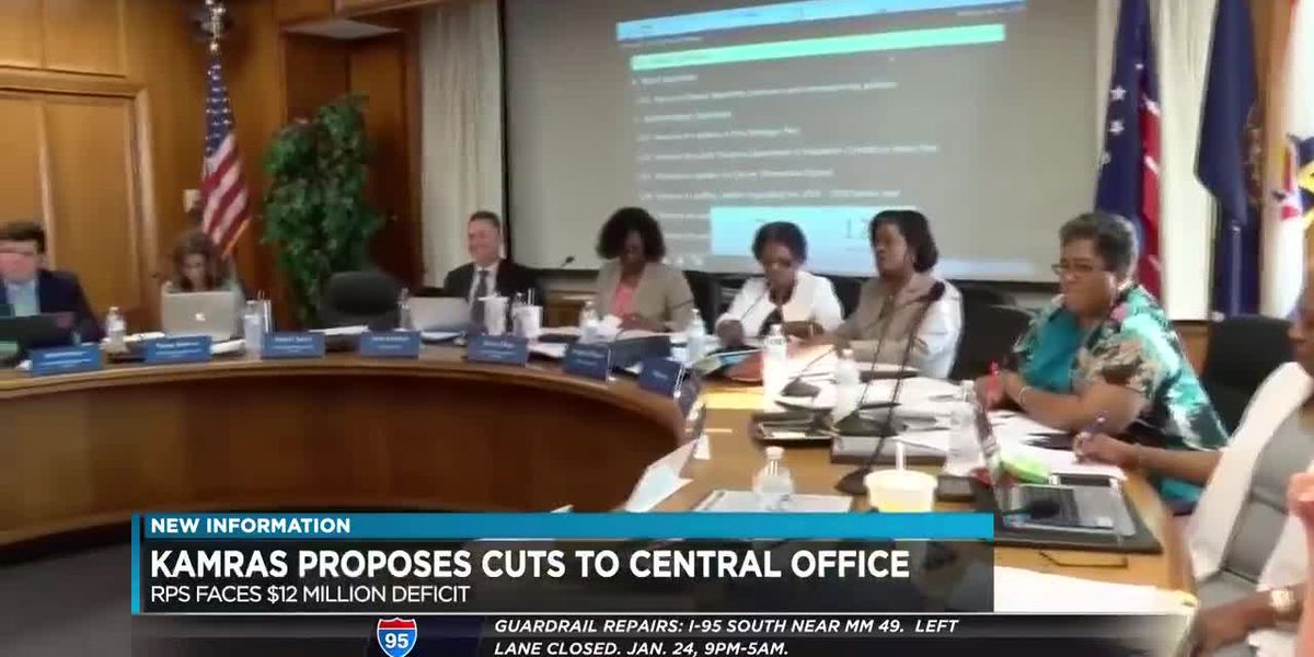 Richmond Superintendent proposes $13 million cuts to central office