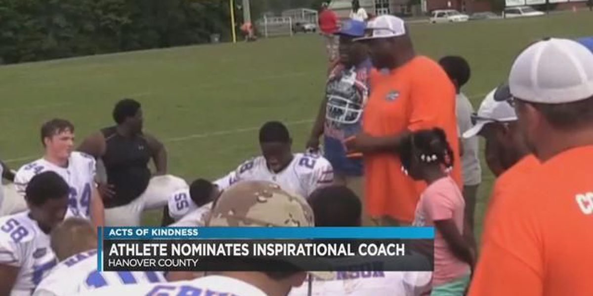 Hanover teen honors youth football coach