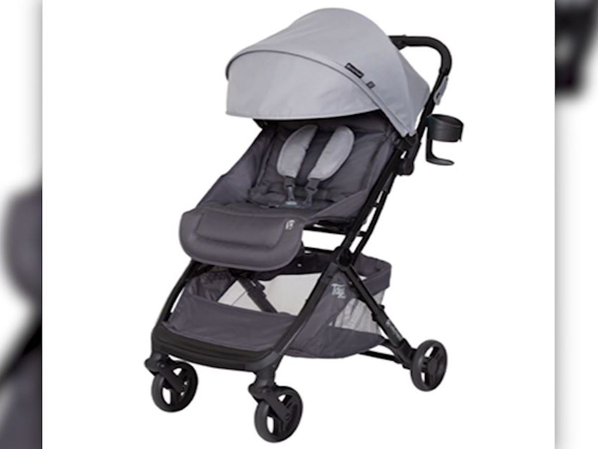 Baby strollers recalled for fall risk