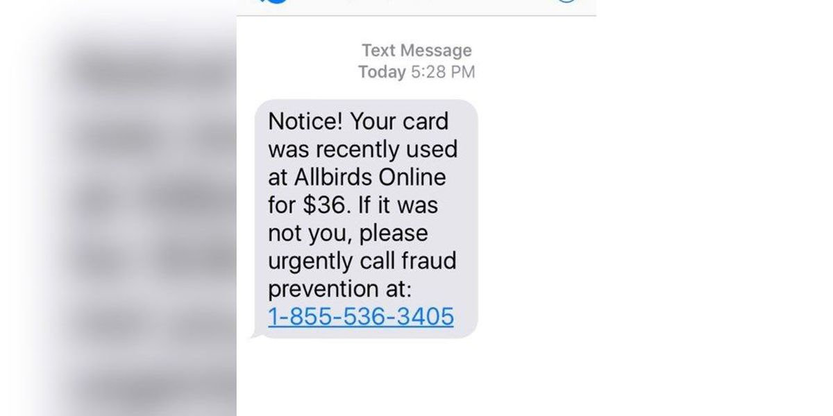 Sheriff warns people not to fall for texting scam