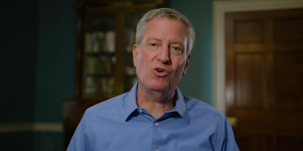NYC Mayor de Blasio is seeking Democratic nod for president