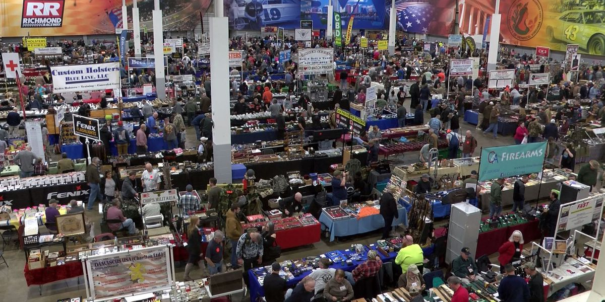 Gun-owners react to Dem-controlled legislature at 45th 'Richmond Gun Show'