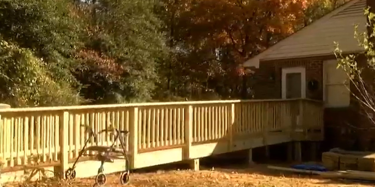 Disabled Montpelier woman gifted new handicap ramp