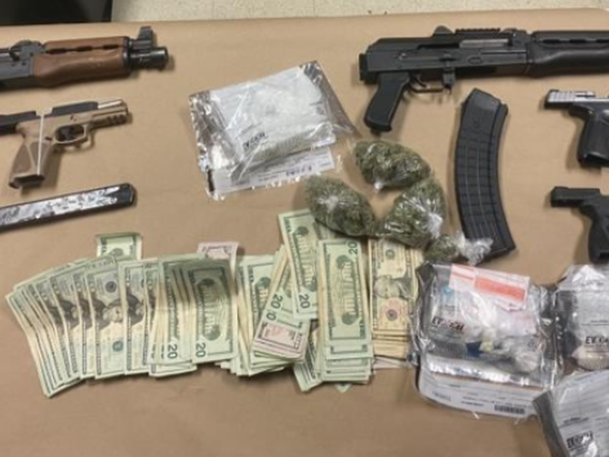 Federal agents, Petersburg police arrest 5 in drug, weapon seizure