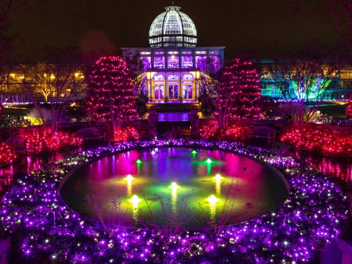 GardenFest of Lights at Lewis Ginter: This contest has ended