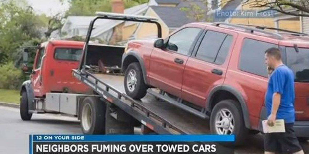 Richmond neighbors riled up over string of towed cars