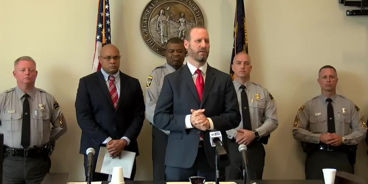 RAW: District Attorney discusses 2nd arrest in shooting death of NC State Trooper